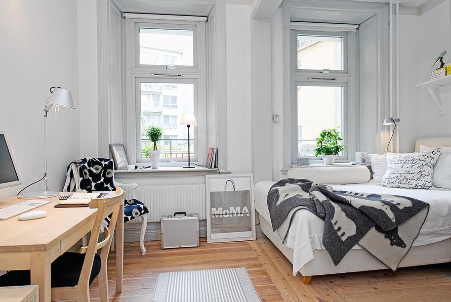 cameretta scandinavian style