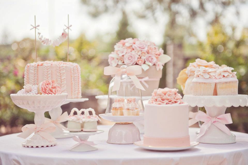 dessert table nel giardino segreto