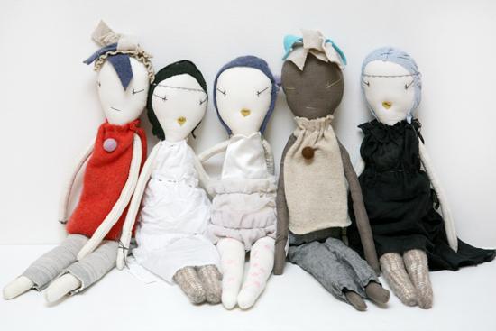 le bambole di Jess Brown
