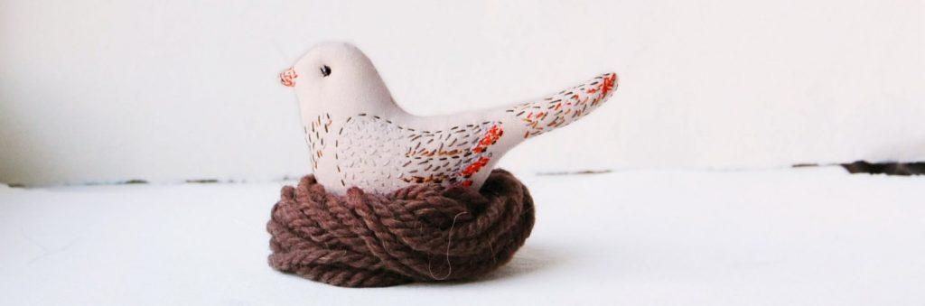 uccellino con nido