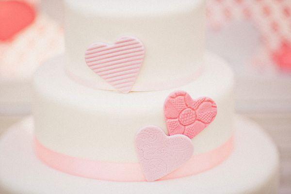decorazioni torta di san valentino