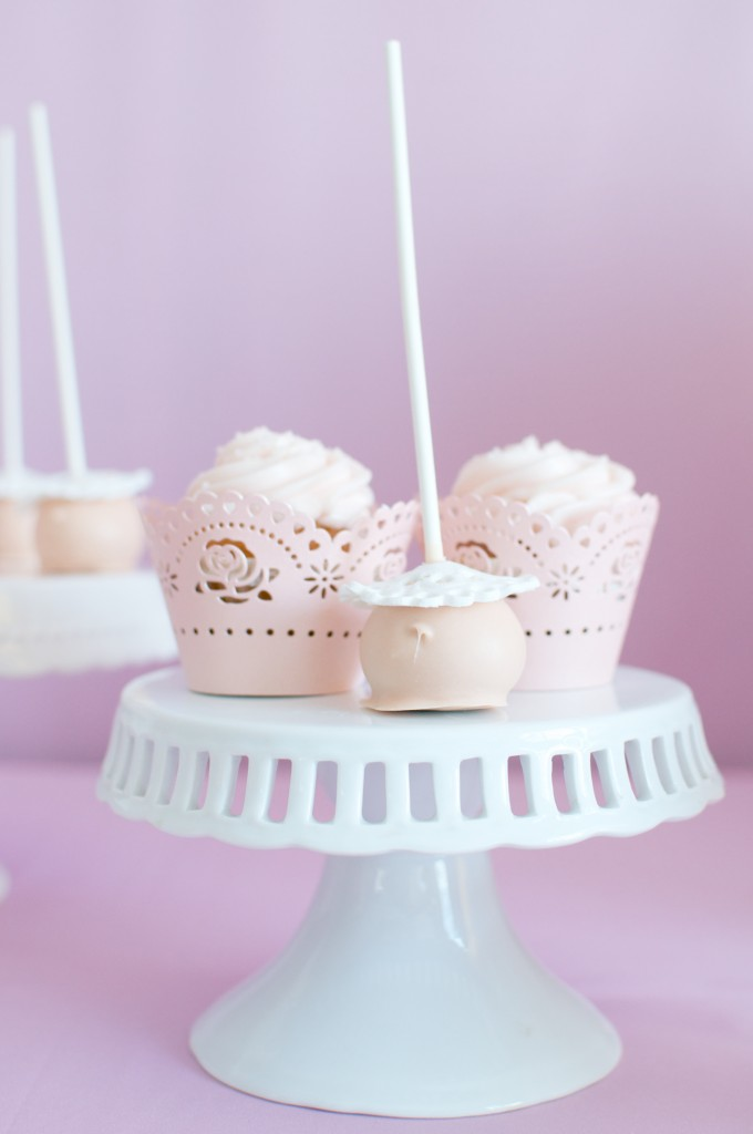 cake pops e cupcakes