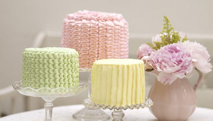 Piccoli Elfi |15 Most Beautiful Ruffle Cake