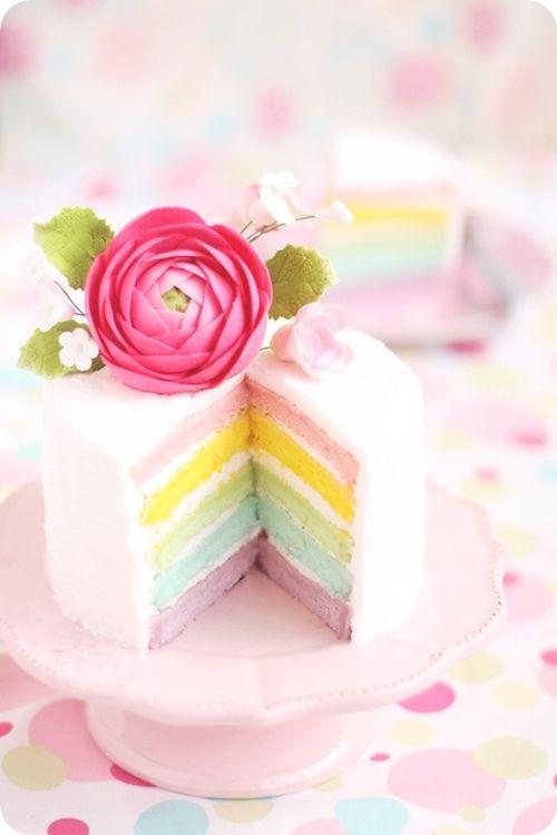 Piccoli Elfi | rainbow cake