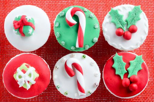 Cupcakes di Natale
