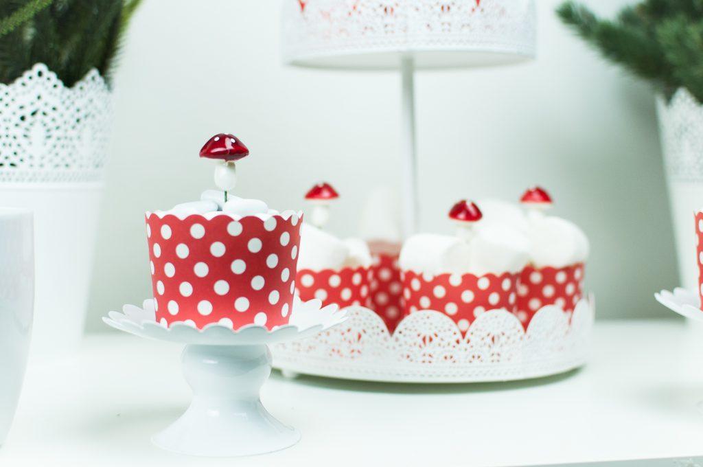 Natale bianco e rosso funghetti-3