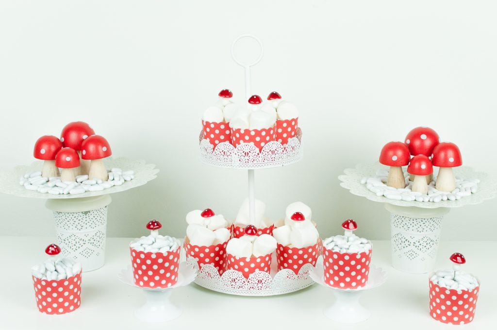 Natale bianco e rosso funghetti-6