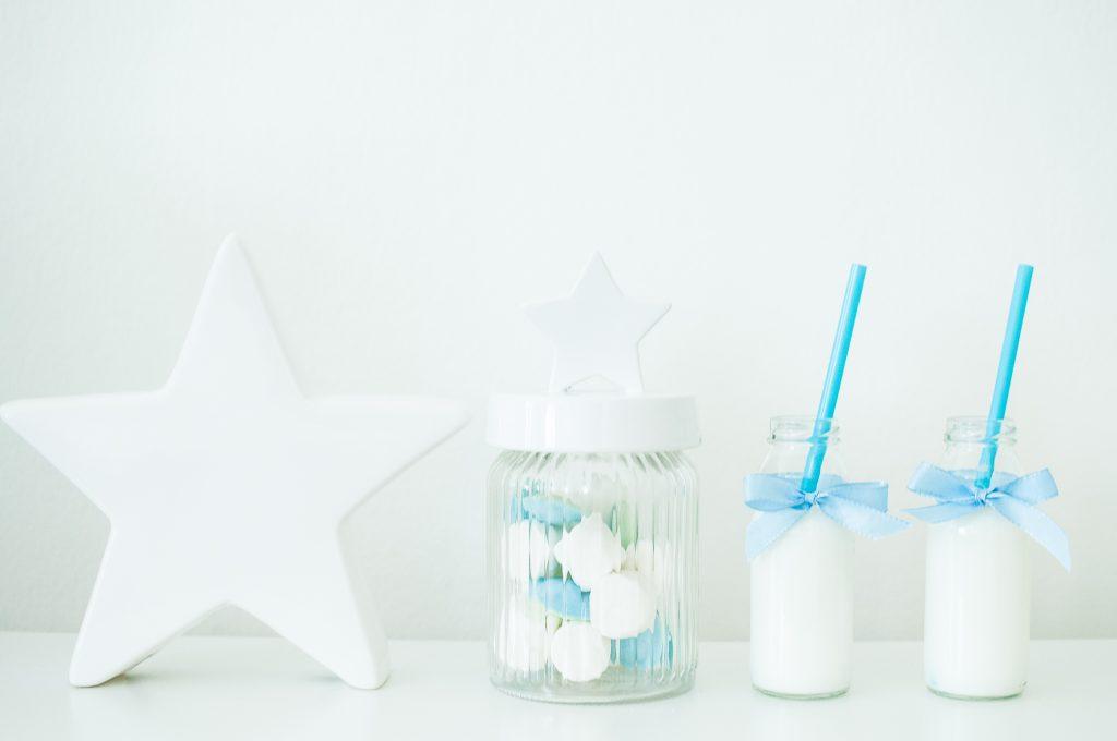 Stelle bianco e azzurro-1