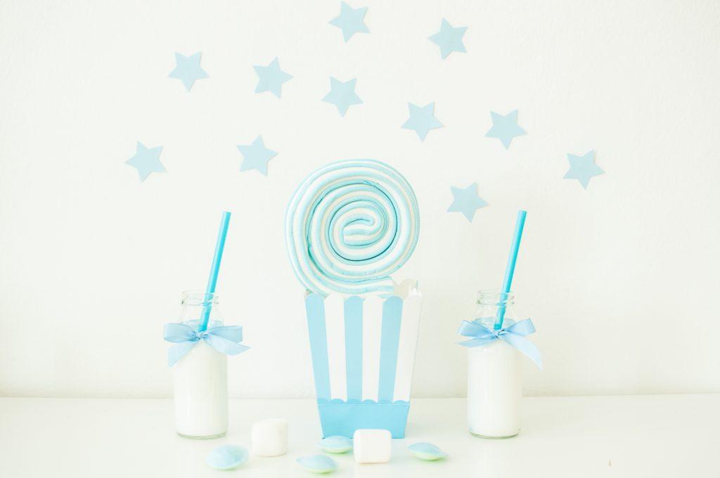 Stelle bianco e azzurro-3