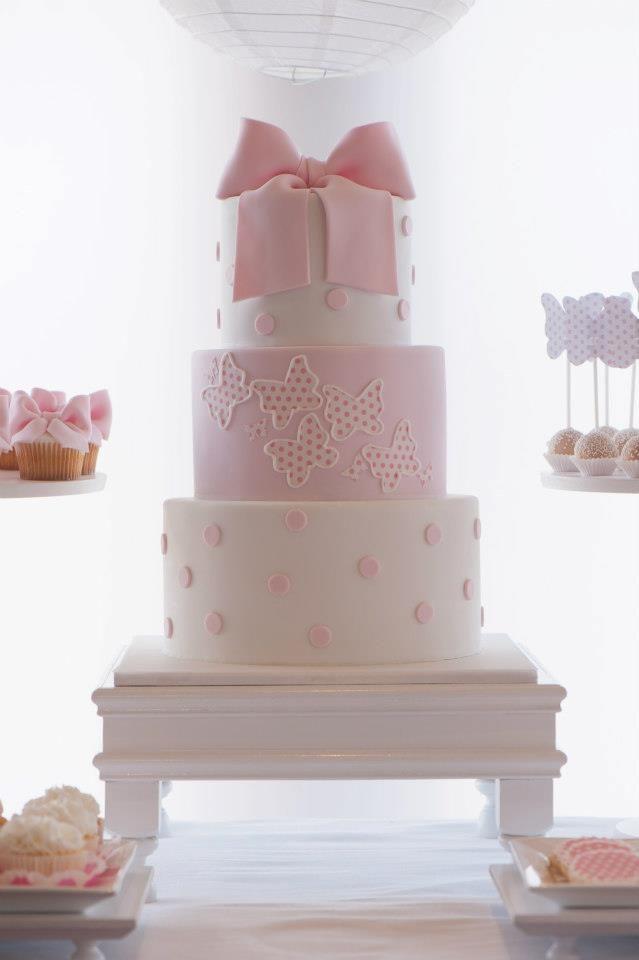 Preferenza Le 15 torte più belle per il Battesimo di una bimba Battesimi  EF88