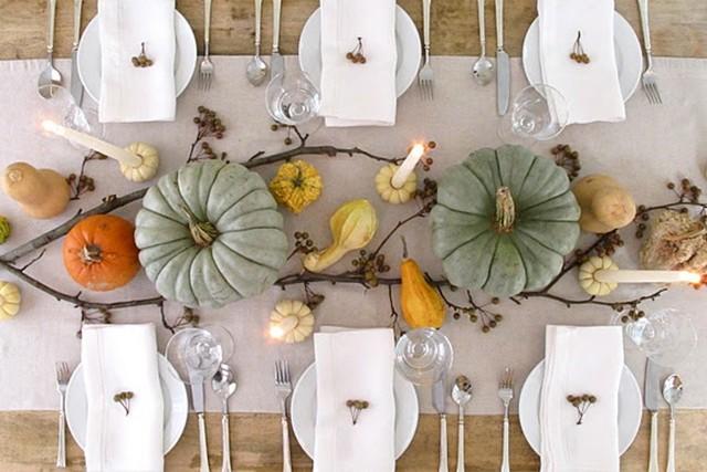 Piccoli Elfi |10 idee per una perfetta tavola autunnale