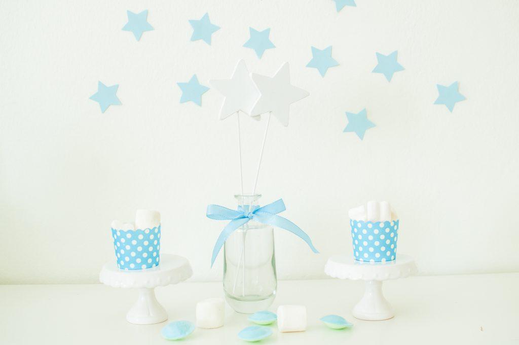 Stelle bianco e azzurro-4