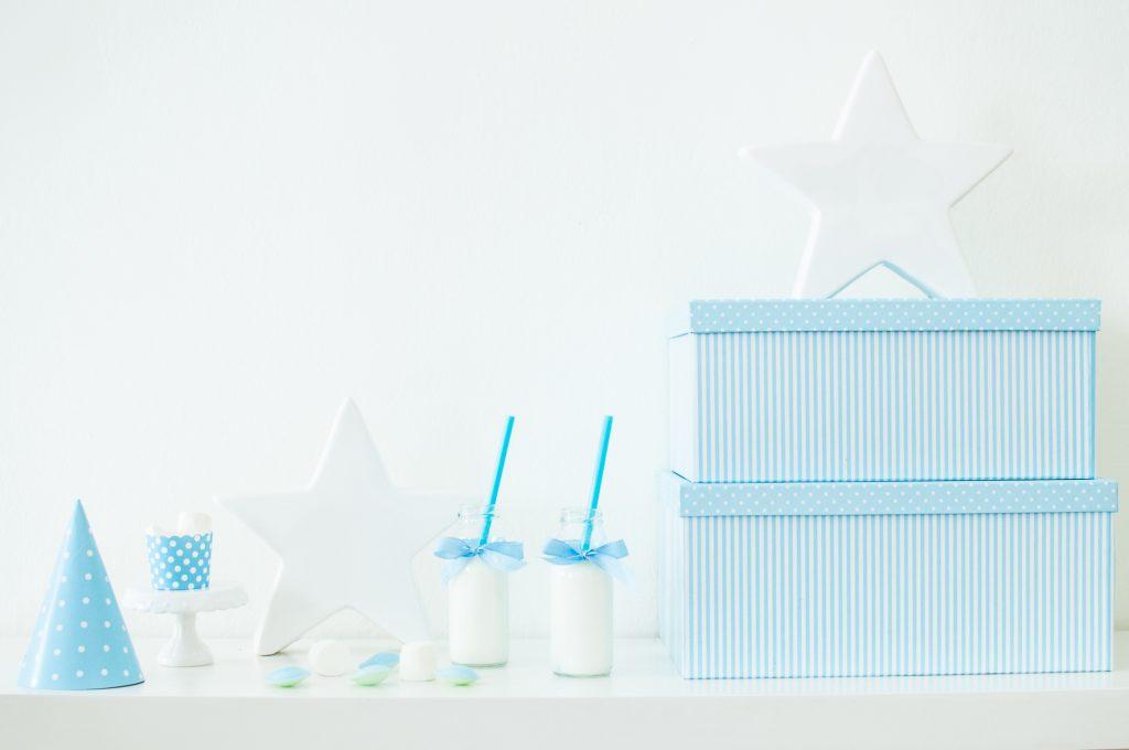 Stelle bianco e azzurro-5