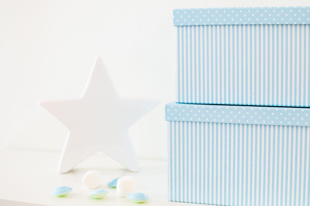 Stelle bianco e azzurro-8